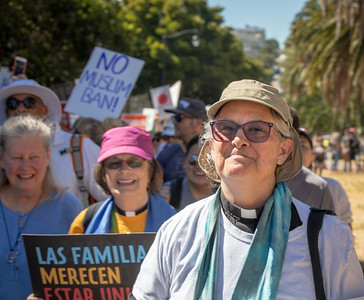 Families Belong Together Protest March