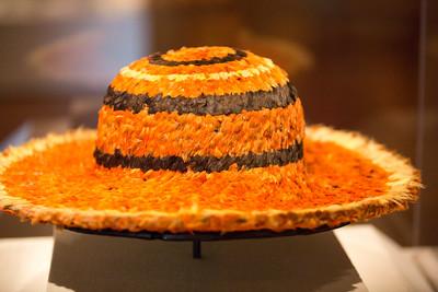 Feathered Hawaiin Hat