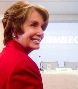 Representative Nancy Pelosi.