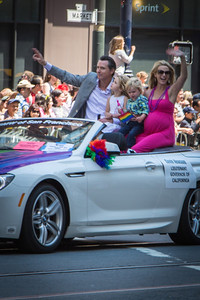 Lt. Governor (and marriage equality instigator) Gavin Newsom.
