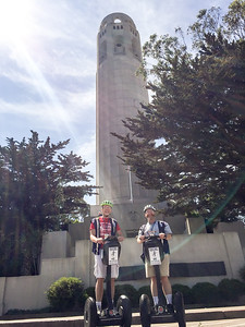 Geoffrey and Galen at Coit Tower