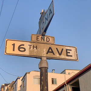 The End of 16th Ave