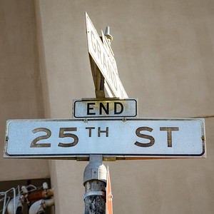 The End of 25th Street