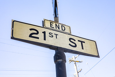 The End of 21st Street