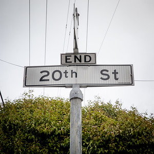 The End of 20th Street