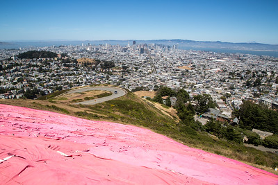 Pink Triangle from above at Twin Peaks