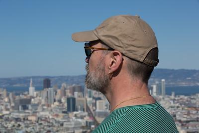 Patrick Looks Over San Francisco