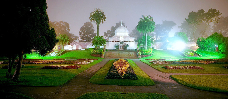 Conservatory of Flowers, Golden Gate Park.
