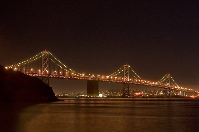 From Treasure Island after sunset.