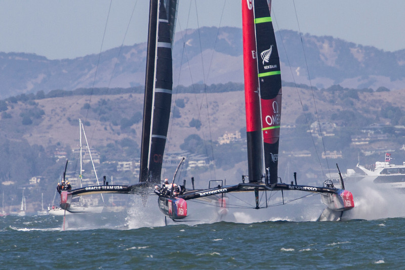 America's Cup, 9/18/13. From Crissy Field.