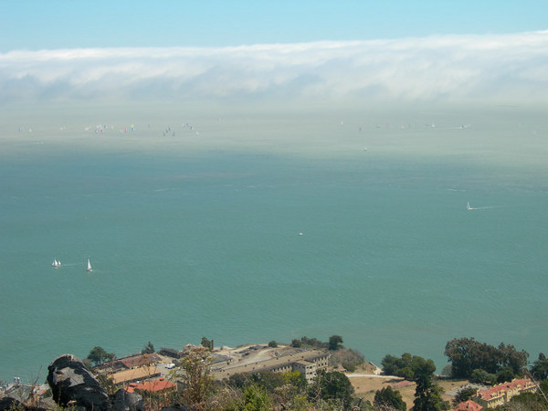 More boats and fog