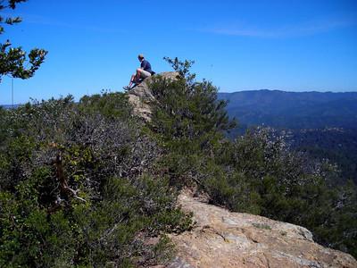Dave on Eagle Rock
