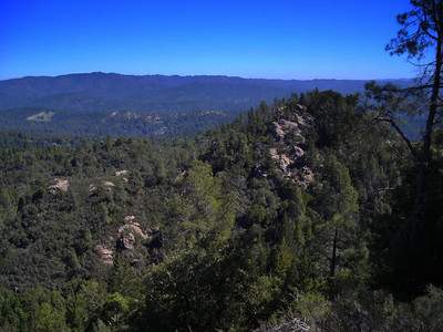 Eagle Rock trail views  The views were amazing once we climbed out of the forest