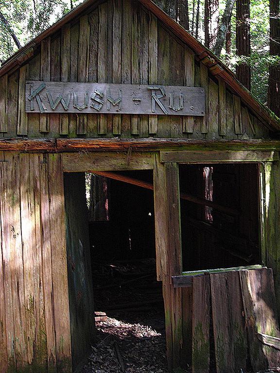 Kwush-Ru<br /> <br /> An old cabin near the beginning on Sunday's hike