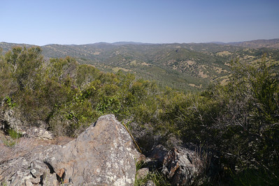 View to the north from the summit of Burra Burra.