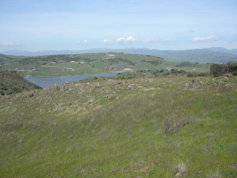 Calero Reservoir from a different cache
