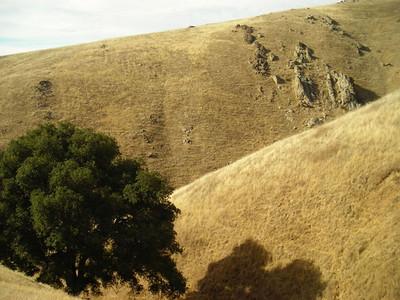 Rocky hillside  Hillside of Monument Peak