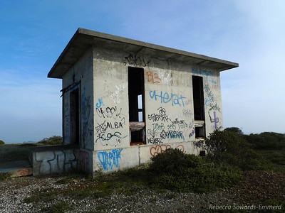 Old Nike missile site on Sweeny Ridge. Clearly well taken care of :/