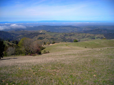 View towards Monterey