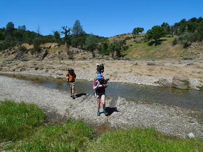 Last big wet-foot crossing before heading to Jackrabbit Lake