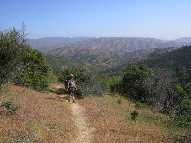 Ben and the vast Orestimba Wilderness