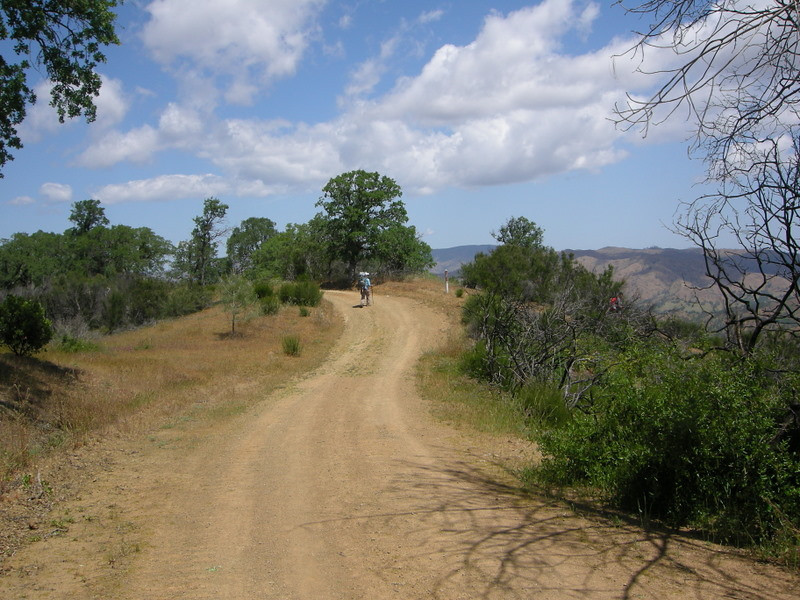 County Line Road and Hartman trail junction