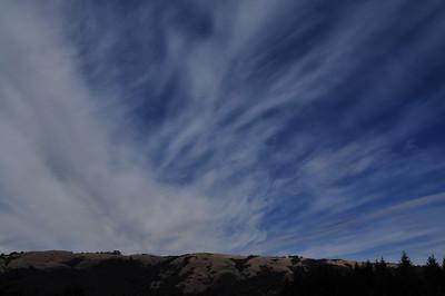 Sky above Black Mountain