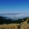 Started off at Long Ridge with the soupy fog below me
