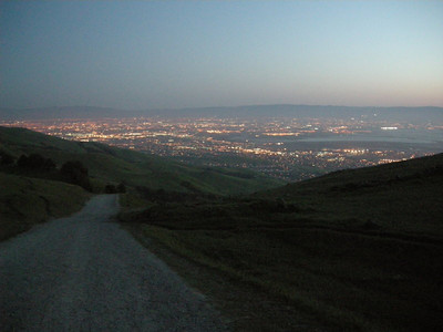 The south bay at night
