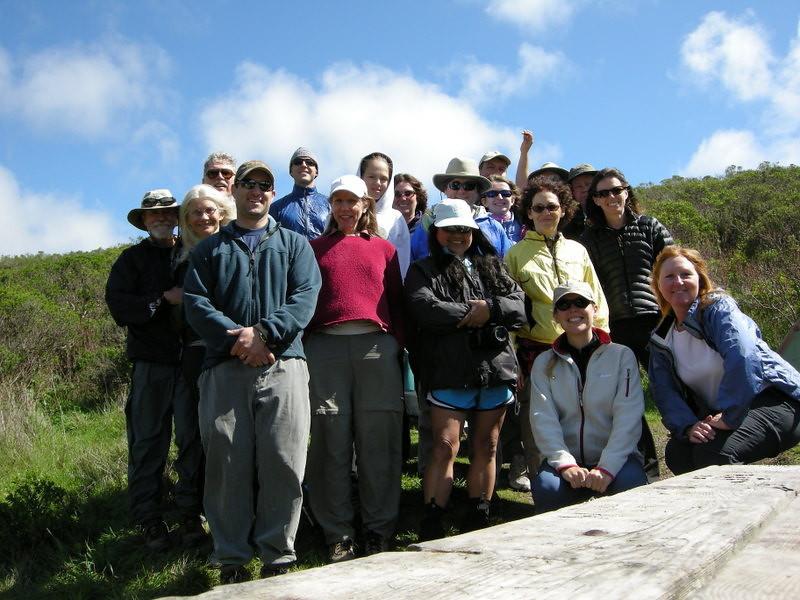The group at Coast Camp