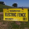 There is a bunch of single wire electric fence for the cattle in this park. Watch out!