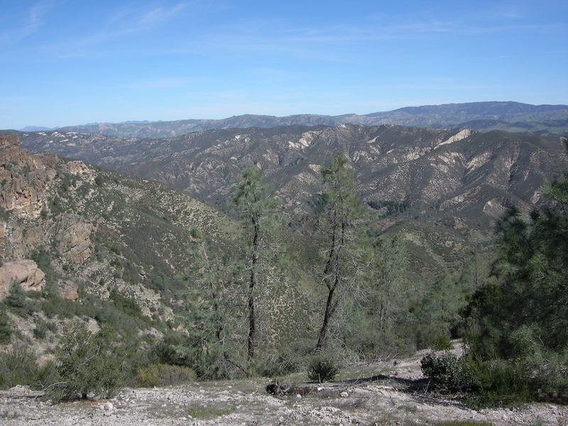 Pinnacles area