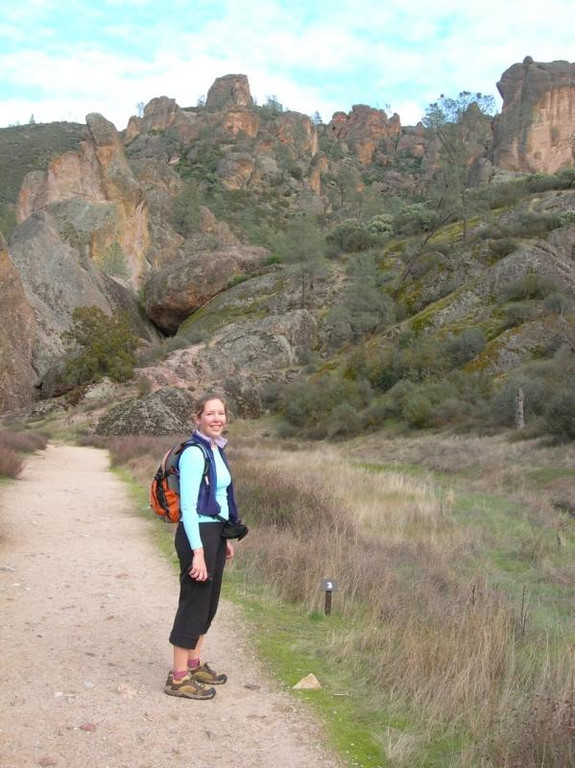 Bex with Pinnacles in background