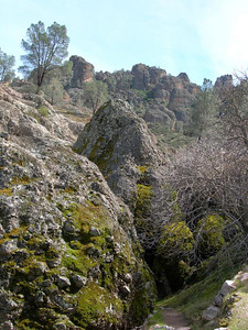 The rocks start to emerge
