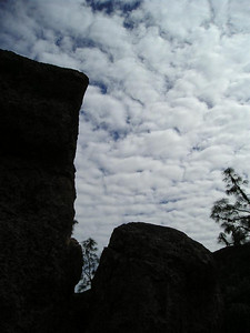 Rock silhouette