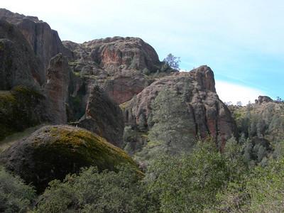Climbing toward the High Peaks