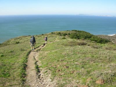 Down the coast trail