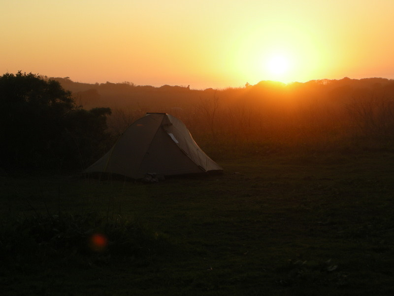 Tarptent at Sunset