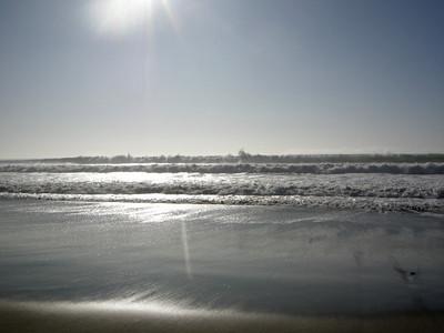 The waves were huge this weekend!