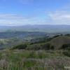 Calero Reservoir and Mt Hamilton.