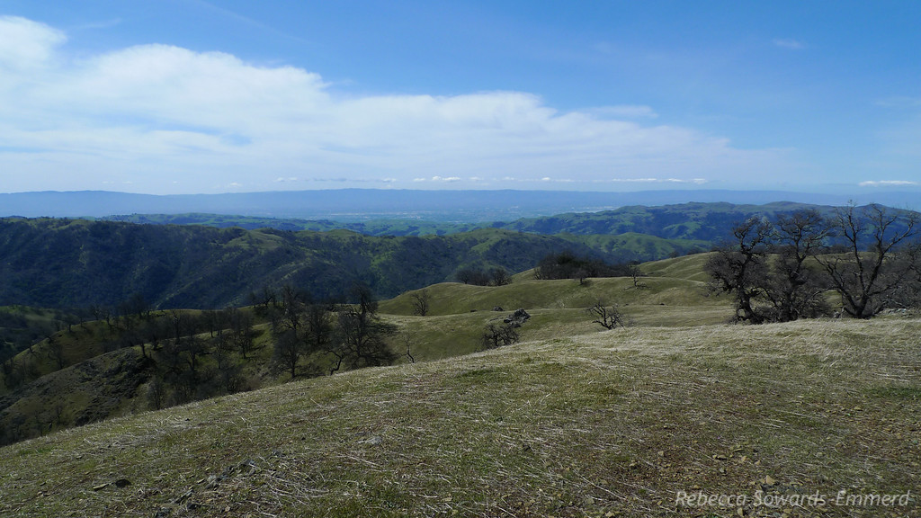 View towards San Jose/Silicon Valley/SF Bay