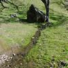 Deep little running stream