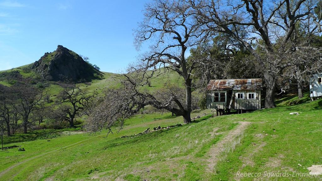 Old ranch ruins.