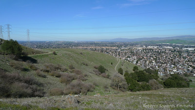 A view of San Jose as I climb into the hills. I love having great hiking parks so close to my home.