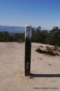 Finally on Simas Peak!