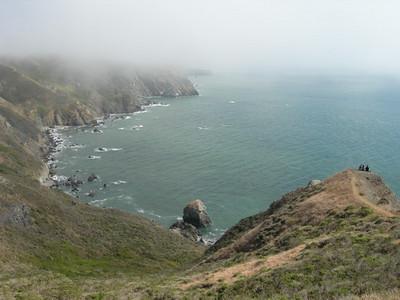 Viewpoint near Muir Beach