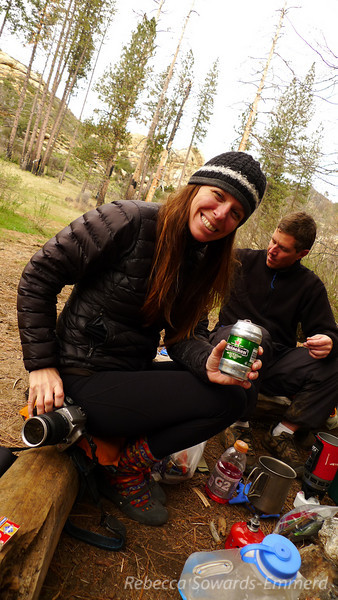 Paige and her heineken