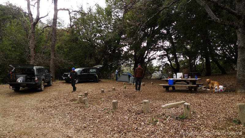Drove our Friday night at stayed at the small campground near the trailhead.