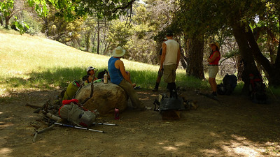 Rest break at Church Creek.