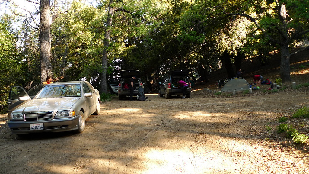 China Camp, packing up and getting ready for a lovely weekend in Pine Valley.